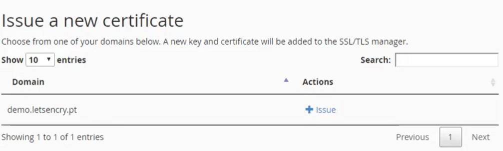 User Guide - Let\'s Encrypt for cPanel